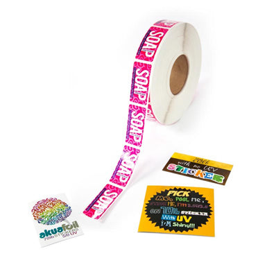 Roll Label Stickers