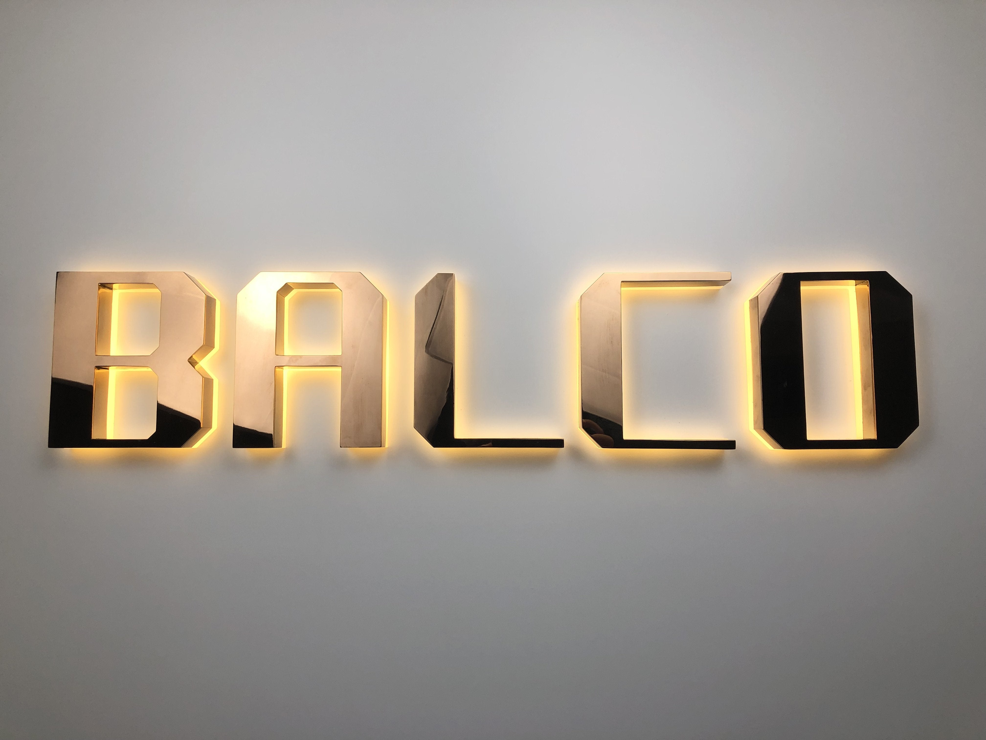 3D LED Letters (submit for quote)