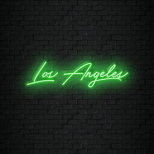 Open image in slideshow, Los Angeles Neon Sign