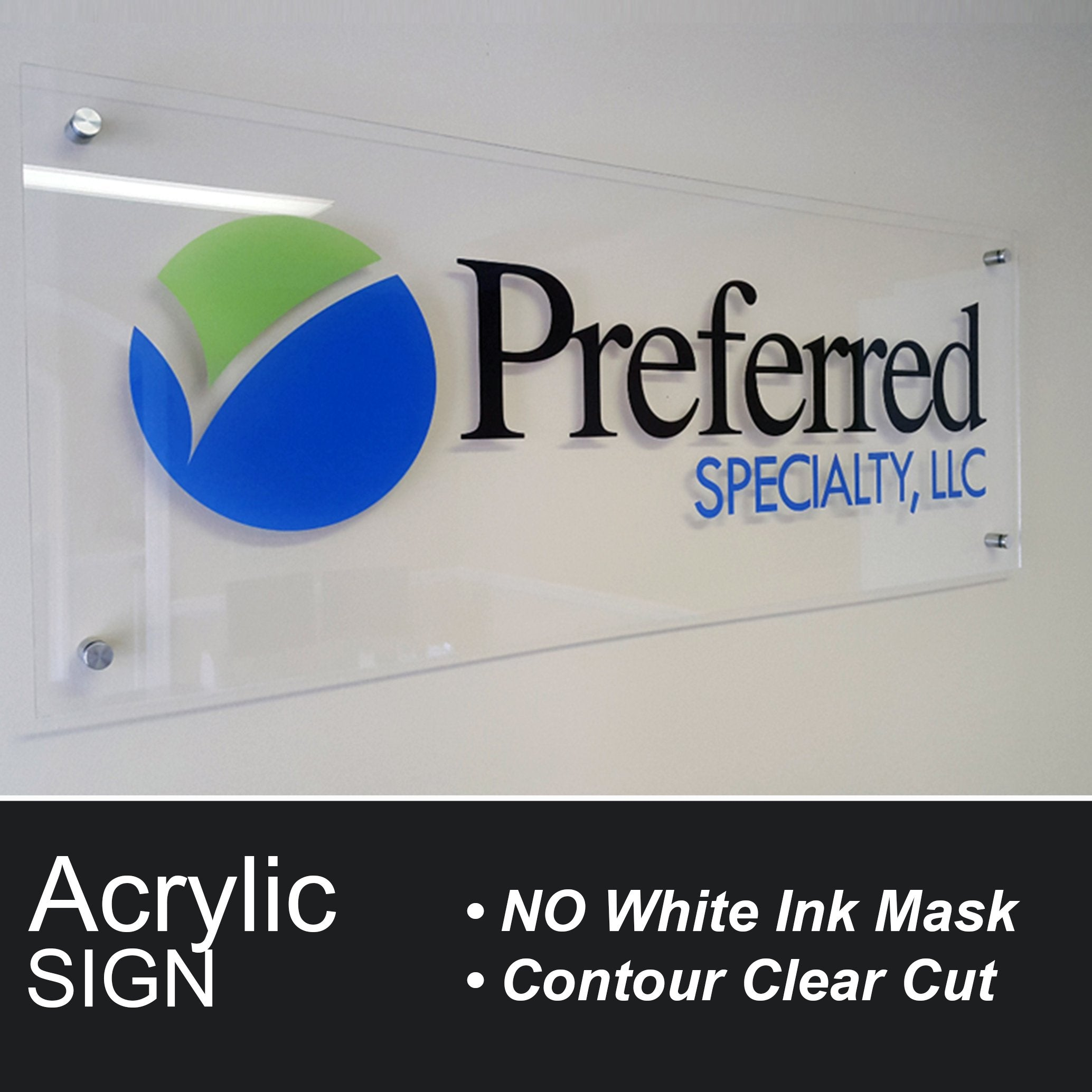 Plexiglass Acrylic Sign