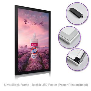 Open image in slideshow, Poster LED Frame