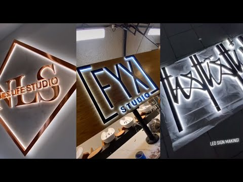 3D LED Letters (customize your design)