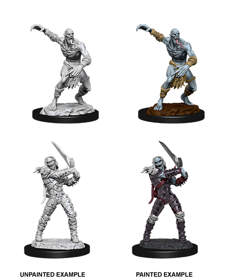 Wizkids Nolzur's Marvelous Miniatures: Wight & Ghast | Cosmic Games