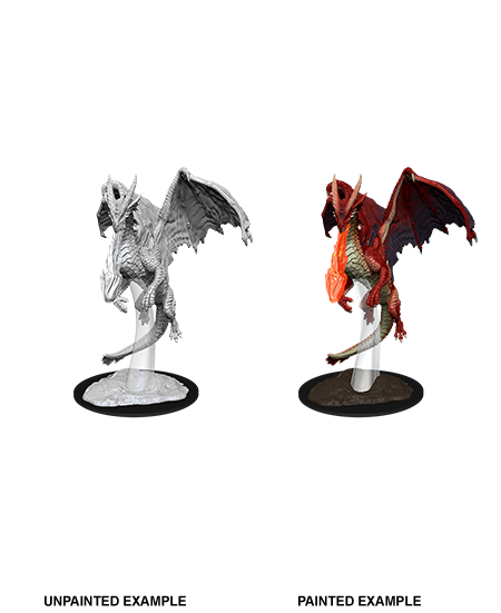 Wizkids Nolzur's Marvelous Miniatures: Young Red Dragon | Cosmic Games