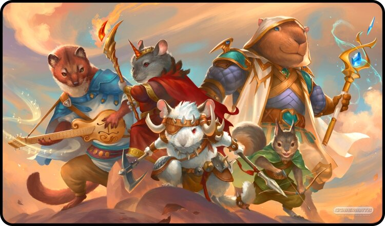 Gamermats Playmat - Animal Raiding Party | Cosmic Games