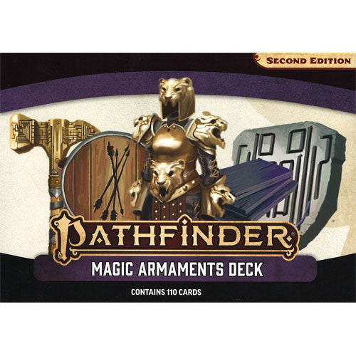 Pathfinder Second Edition - Magic Armaments Deck | Cosmic Games