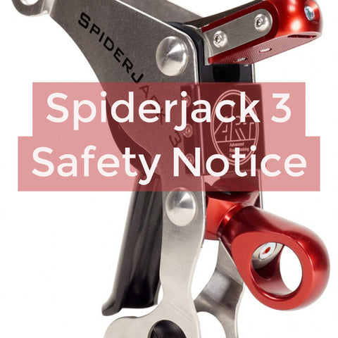 Spiderjack 3 warning