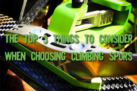 How to choose tree climbing spikes