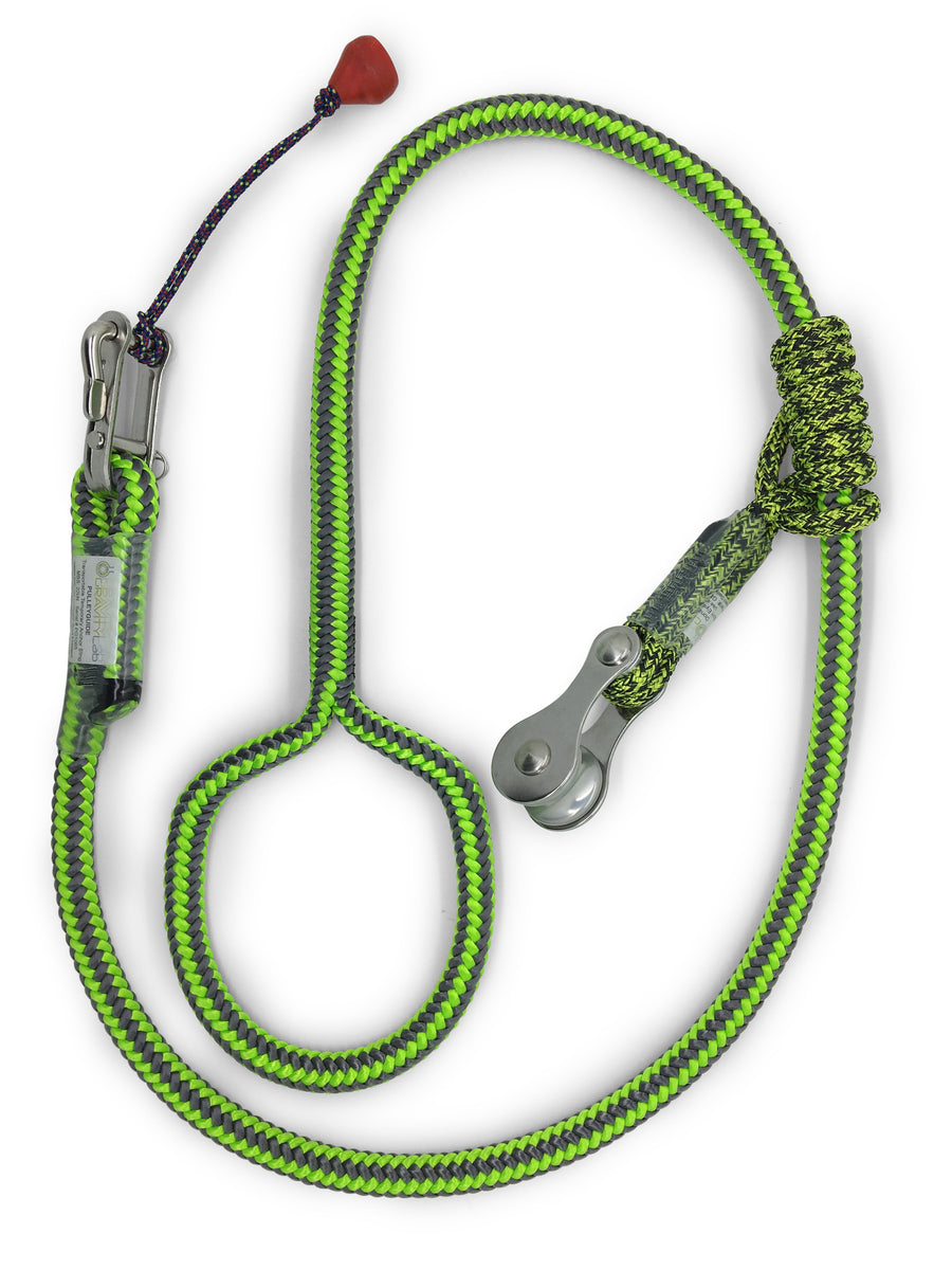 Gravity Lab Pulley Guide - Treegear Australia