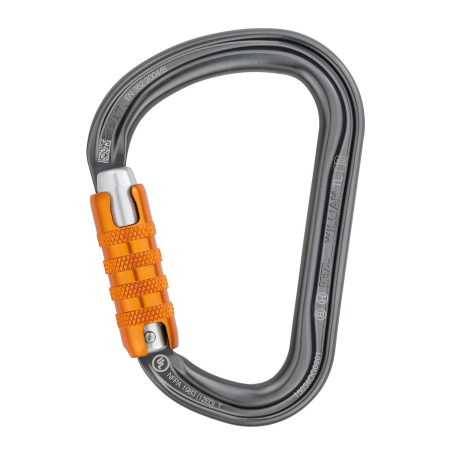 Petzl William Tri Act Carabiner,  The Treegear Store