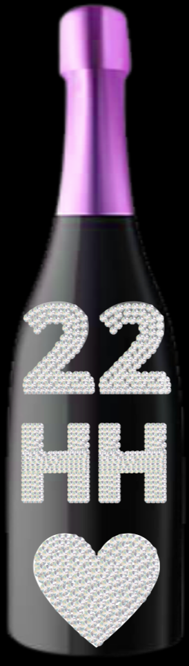 Bespoke Bottles Design (Initials/Numbers)