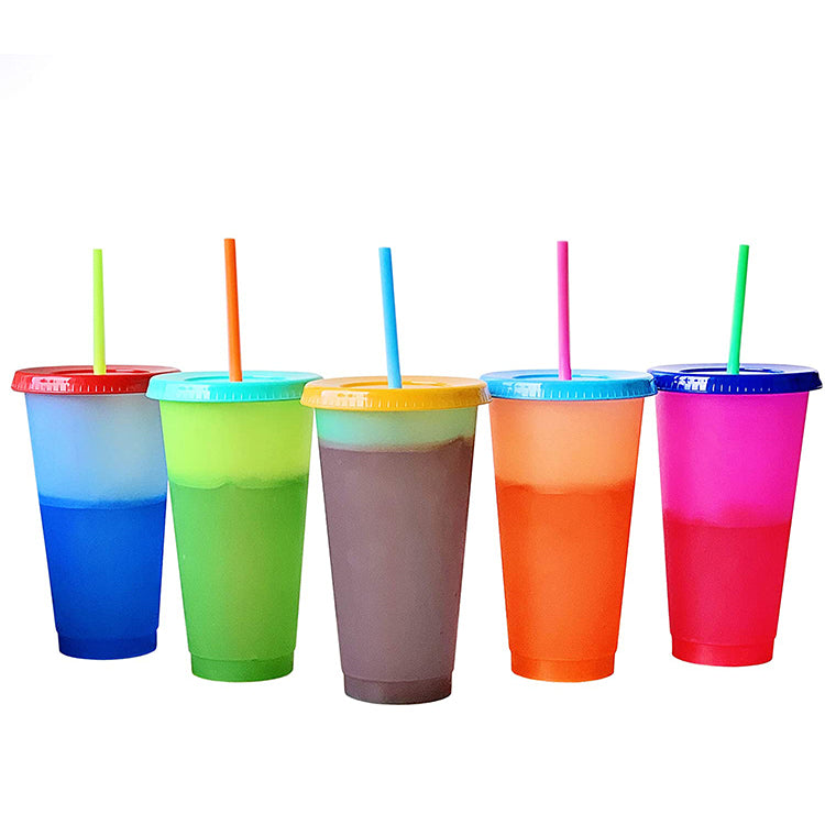 Color Change Cold Cups