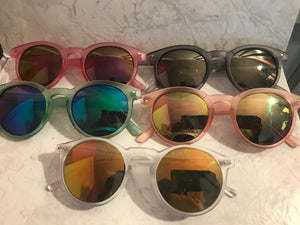Matte Colored Sunglasses