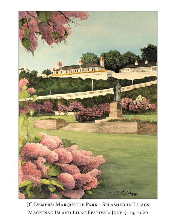 2020 Lilac Festival Poster
