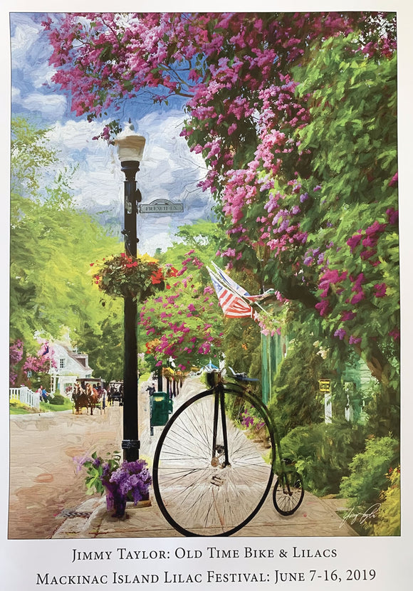 2019 Lilac Festival Poster