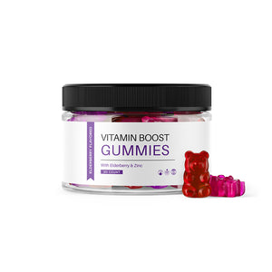 Vitamin Boost Gummies (With Elderberry & Zinc)