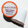 Pooki's Mahi® Kafpresso 100 Kona PEABERRY Coffee for Keurig in 100% recyclable capsules available as coffee subscription, wholesale coffee club or VIP distributor reseller. Hawaii Kona coffee Nespresso, Nespresso coffee pods, coffee for Keurig CA Prop 65.