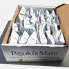 Pooki's Mahi 100% Kona coffee subscriptions with CA Prop 65 product requirements, nutrition, Pooki's Mahi trademarks for 100% Kona KaKao coffee in biobased or recyclable pods.