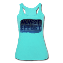 Load image into Gallery viewer, Honest Effort: Women's summer nights Tank - turquoise