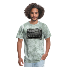 Load image into Gallery viewer, Honest Effort: Greydient Tee - military green tie dye