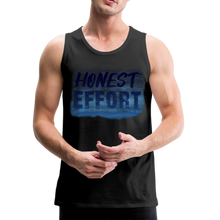 Load image into Gallery viewer, Honest Effort: Men's summer nights Tank - black