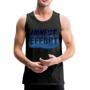 Honest Effort: Men's summer nights Tank - black