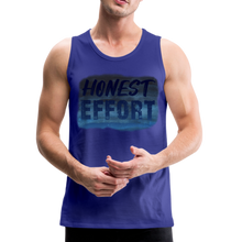Load image into Gallery viewer, Honest Effort: Men's summer nights Tank - royal blue