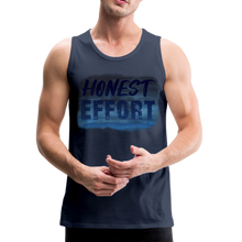Load image into Gallery viewer, Honest Effort: Men's summer nights Tank - navy