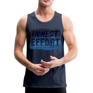 Honest Effort: Men's summer nights Tank - navy