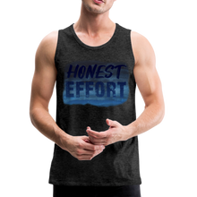 Load image into Gallery viewer, Honest Effort: Men's summer nights Tank - charcoal gray