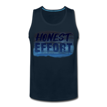 Load image into Gallery viewer, Honest Effort: Men's summer nights Tank - deep navy