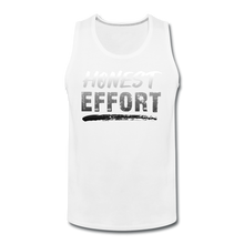 Load image into Gallery viewer, Honest Effort: Men's Greydient Tank - white