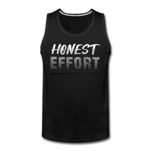 Load image into Gallery viewer, Honest Effort: Men's Greydient Tank - black
