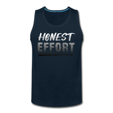 Load image into Gallery viewer, Honest Effort: Men's Greydient Tank - deep navy