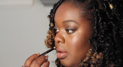 Defined Eyes & Lips with Anaïsol Opoku