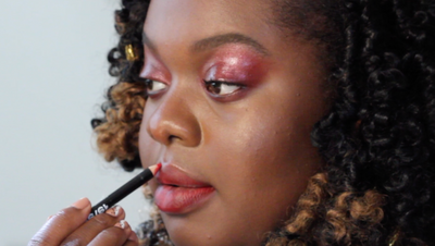 Glossy Red Eyes and Lips with Anaïsol Opoku