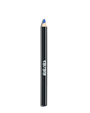 Multi Purpose makeup, clean beauty, blue eyeliner, blue lipstick, blue lip liner, blue eyeshadow, ageism beauty, inclusive beauty, natural makeup, no makeup makeup, green beauty, Wasser Precision Color Pencil, 19/99 Beauty, buildable color
