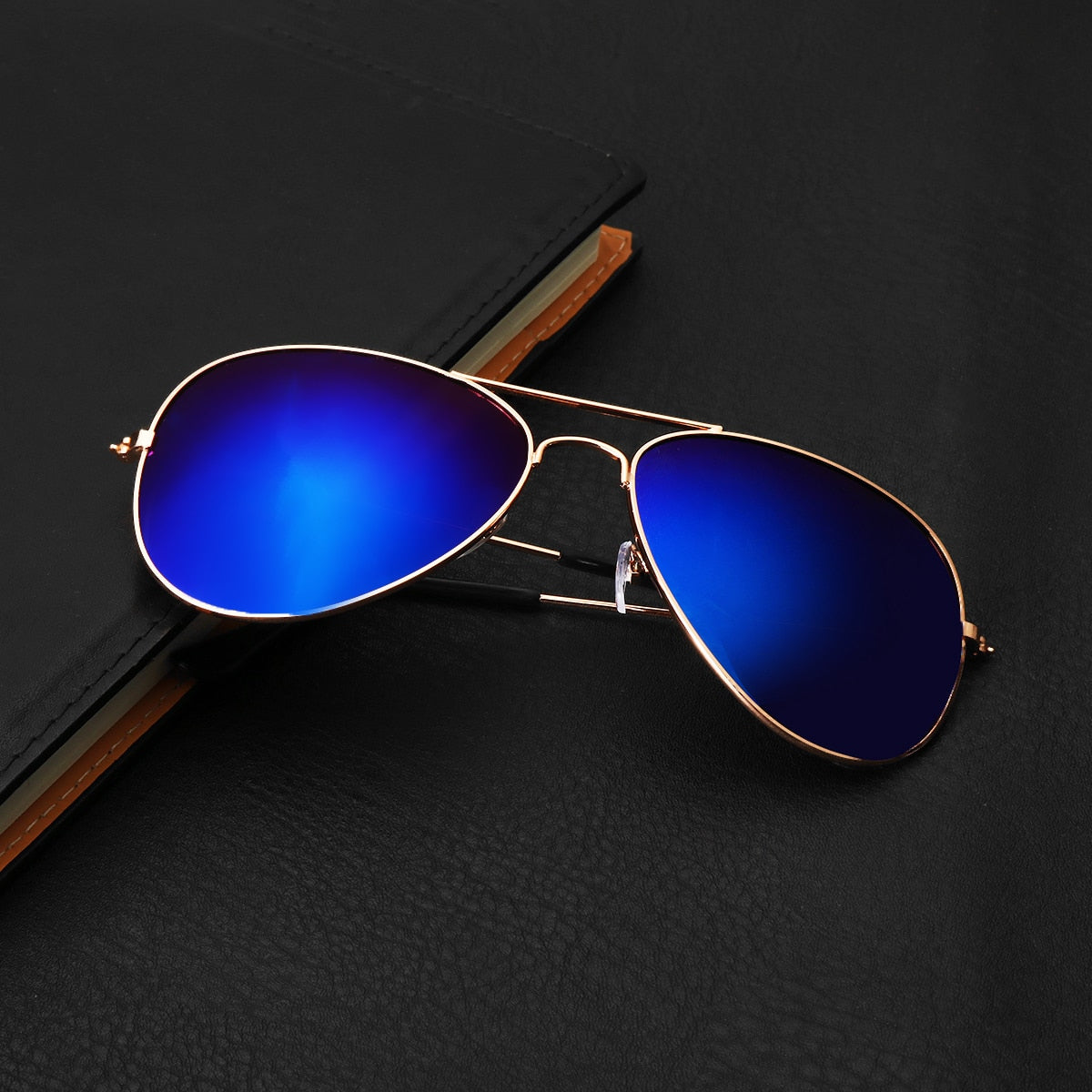 Men Women Retro Sunglasses Fishing Golf Ball Finder Glasses Eye Protection Golf Accessories Blue Lenses Outdoor Sport Sun Glass