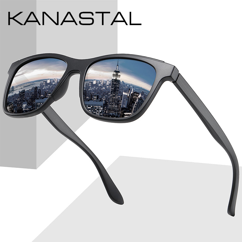 Ultralight Polarized Sunglasses TR90 Men Women Driving Square Style Sun Glasses Male Goggle Mirror Sunglasses Gafas De Sol