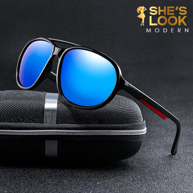 SHES LOOK MODERN 2020 Polaroid Sunglasses Unisex Round Vintage Sun Glasses Sunglases Polarized Sunglasses Oculos Feminino for Women Men
