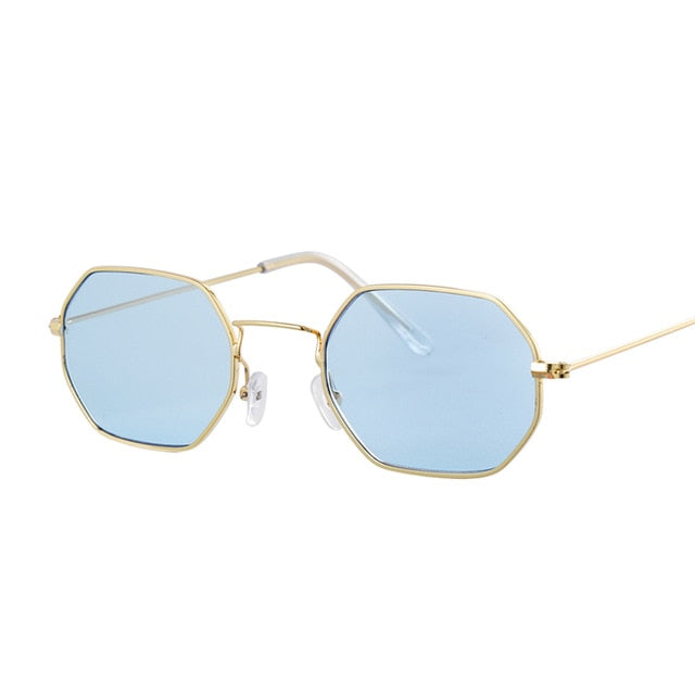 Vintage Red Sunglasses Women Brand Designer Flat Lens Luxury Sun Glasses for Women Small Mirror Ladies Sunglasses Oculos