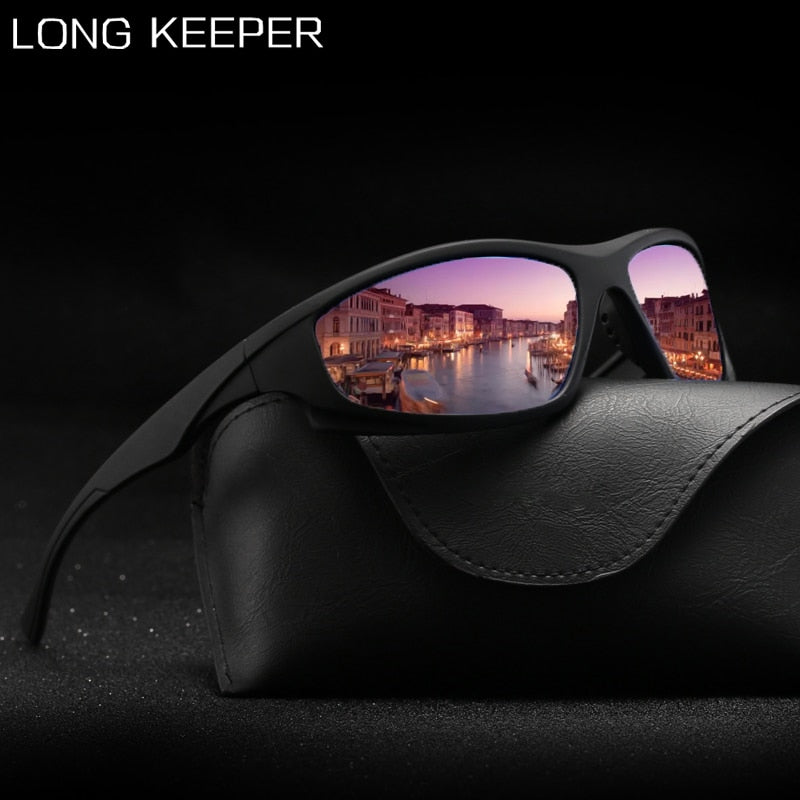 Sport Polarized Sunglasses Men 2020 Brand Driving Sun Glasses UV400 Protection Vintage Car Driver Black Eyewear for Male