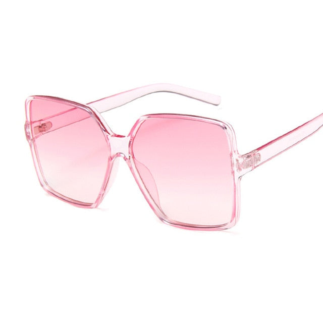 Luxury Square Sunglasses Women Brand Designer Retro Frame Big Sun Glasses Female Vintage Gradient Male Oculos Feminino