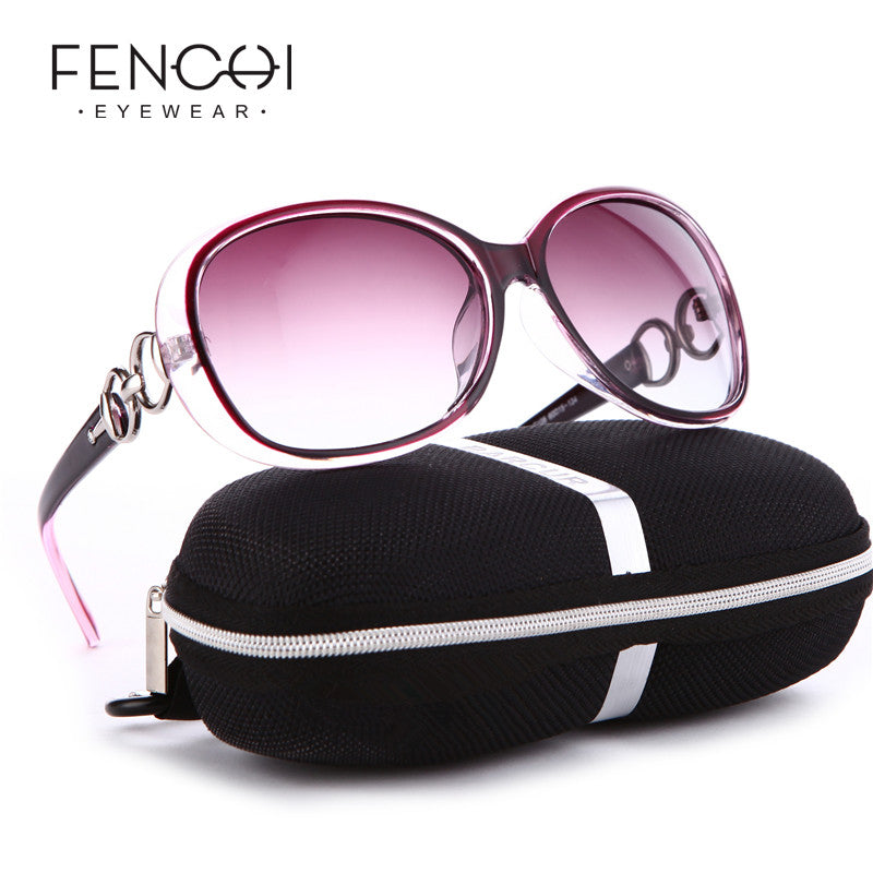 FENCHI Pink White New Polarized Sunglasses Women Zonnebril Dames Black Sun Glasses  Female Driving gafas oculos de sol masculino