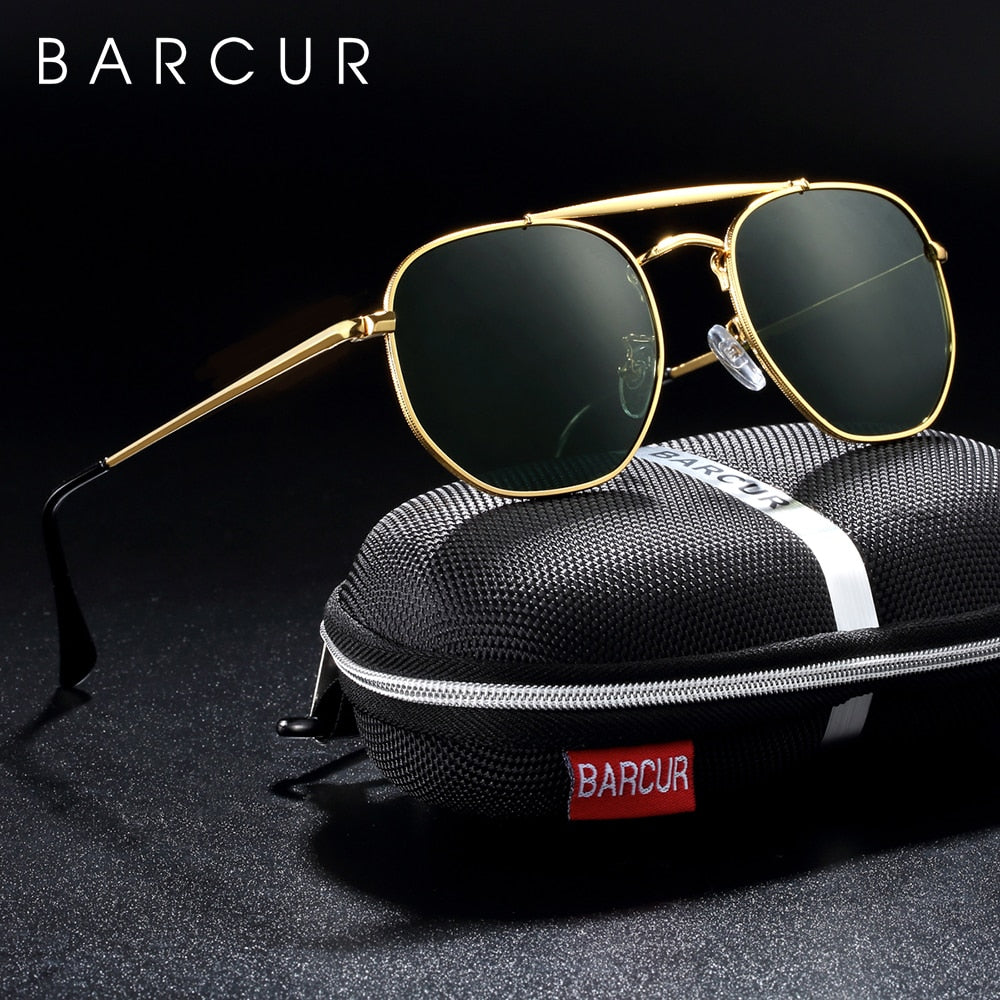 BARCUR Original Square Sunglasses for women Polarized Women Hexagon Sun Glasses Oculos De Sol gafas lunette de soleil femme