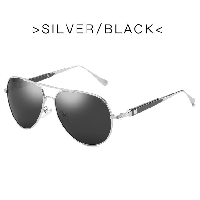 Customize Vintage Polarized Sunglasses 2020 Aluminum Coating Lens Sun Glasses Trend Mirror Driving Eyewear For Women Men
