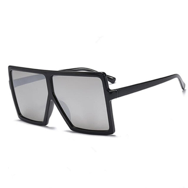Vintage Big Square Sunglasses Women Goggles Mens Oversize Sun Glasses Female Fashion Famous Brand Black Eyewear Gafas de sol