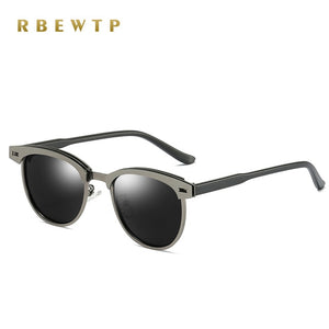 RBEWTP Unisex Retro Vintage Men's Sunglasses Polarized Driving Sun Glasses oculos Male Eyewear Accessories For Men/women 0911
