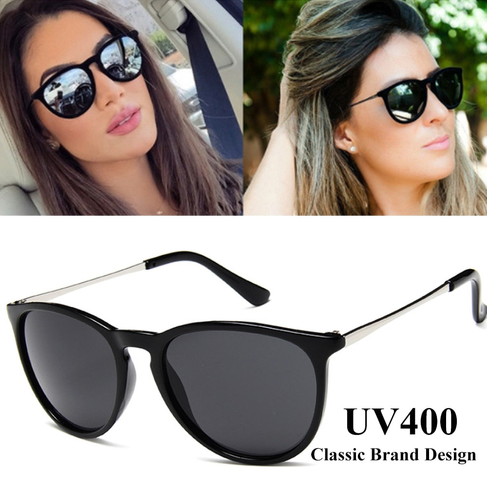 Vintage Cat Eye Sunglasses Women Brand Designer Oculos De sol Feminino Rays Protection Mirrored Sun Glasses 2019