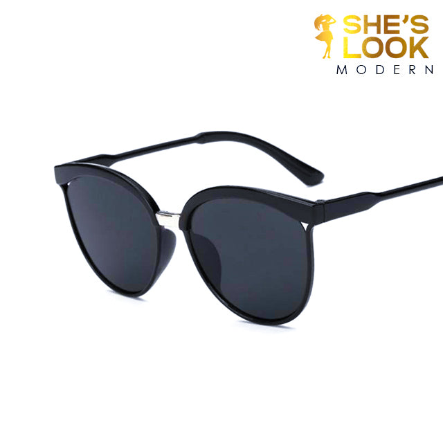 SHES LOOK MODERN 2020 Vintage Sun Glasses for female Sunglasses Women Original Brand Designer Women Sunglases Retro Sunglass Oculos Gafas De Sol